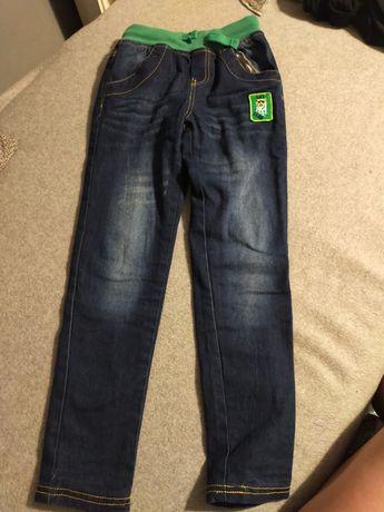 Spodnie ocieplane chłopięce rozm 128