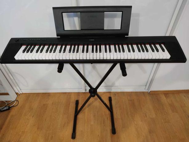 Keyboard/Stage piano Yamaha Piaggero Np-32+stojak Soundking+sustain