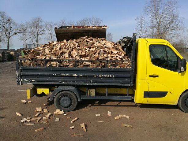 Drewno debowe klapki pociete
