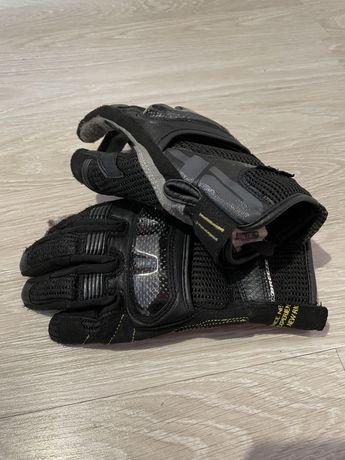 Rękawice motocyklowe - SHIMA X-BREEZE - roz. S - stan BDB