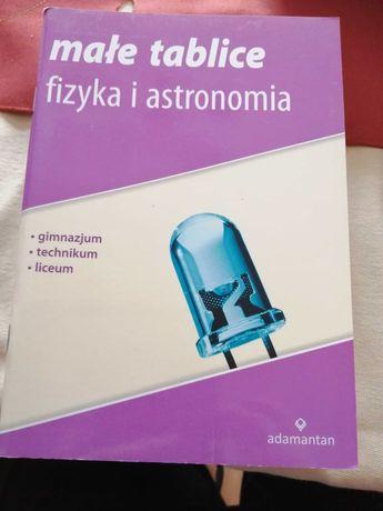 Małe tablice fizyka i astronomia