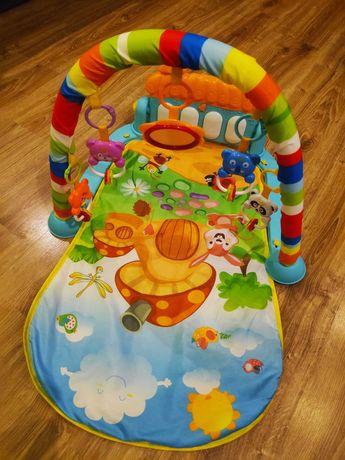 Mata edukacyjna pianino dla niemowląt
