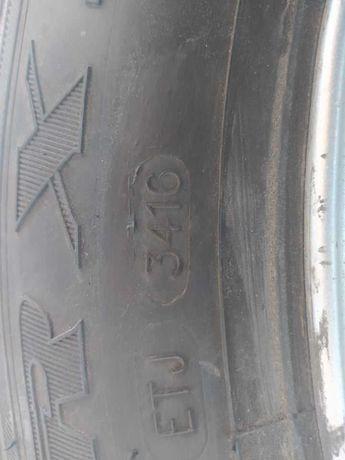 Kompletne koło z Opla zafiry a 2002 rok, chyba nieużywane