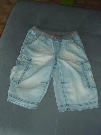 cienkie spodenki jeansowe dla chłopca