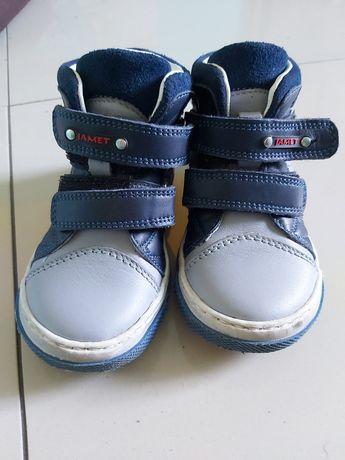 trzewiki buty chłopiec skóra 25 super stan