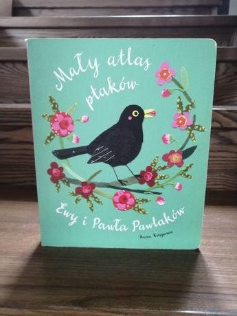 Książka Mały atlas ptaków Ewy i Pawła Pawlaków