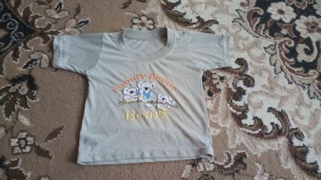 Джемпер майка футболка на годик