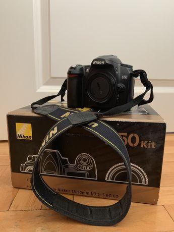 Nikon D50- body, obiektyw, futerał