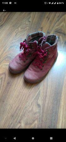 Розовые ботинки 30 размер, 20 см стелька Фирма Kotofey