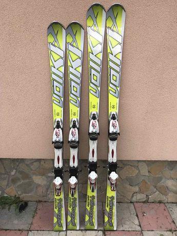 лижі лыжи Volki racetiger 165cm 155cm після сервісу