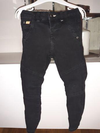Jeansy spodnie zara r 98