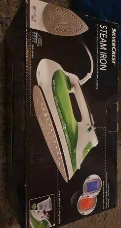 Żelazko parowe bialo zielone