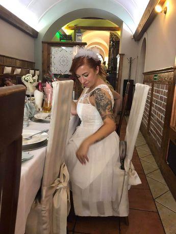 Suknia Ślubna rozm z metki 40