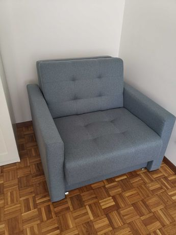 Sofa MONDO 1-osobowa, rozkładana, jak nowa, stan idealny.