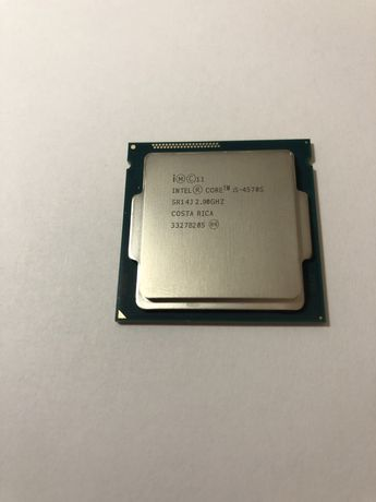 Процессор Intel Core i5-4570S  2,9-3,6 GHz socket 1150