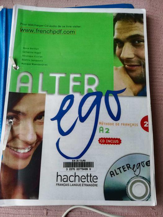 Alter ego, podręcznik i ćwiczenia do nauki języka francuskiego  A2 Białystok - image 1