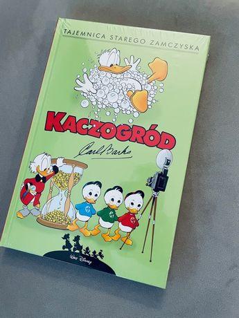 Komiks Kaczor Donald z serii Kaczogród pt Tajemnica Starego Zamczyska