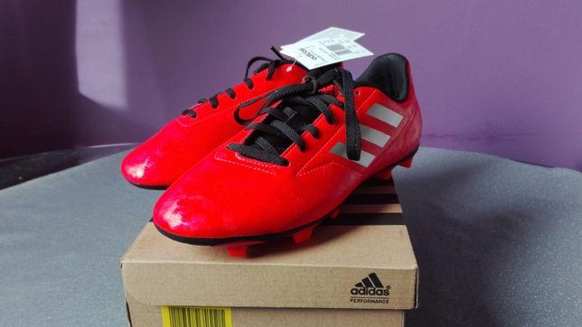 Buty Adidas Conquisto II FG J AQ4319 korki czerwone 38 2/3