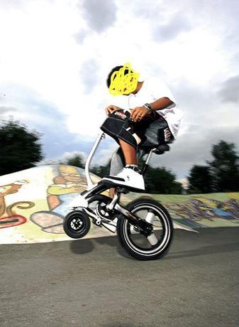 Bicicleta cybex SLQR manobras