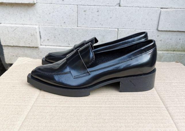 Кожаные лоферы туфли Selected Femme 37 р. Оригинал