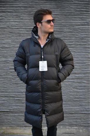 парка куртка moncІеr длинная зимняя пуховик мужская