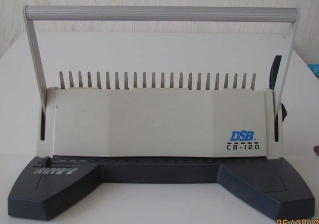 Биндер DSB CB120 (брошюровщик) на пластиковую пружину с расходниками