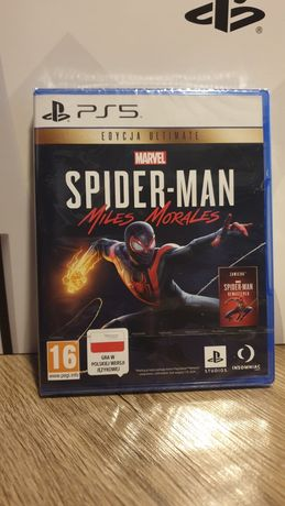 Spider Man Miles Morales Edycja Ultimate PS5