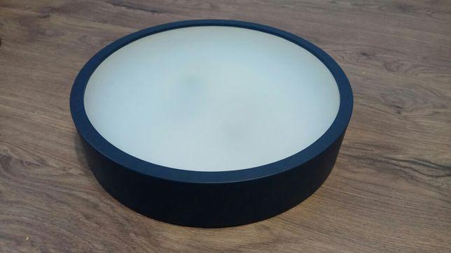 Lampa stylowy plafon Katia 375 grafit antracyt 2x E27 Reflect Light