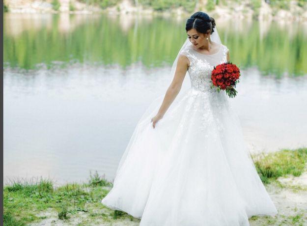 Свадебное платье отшито по фото