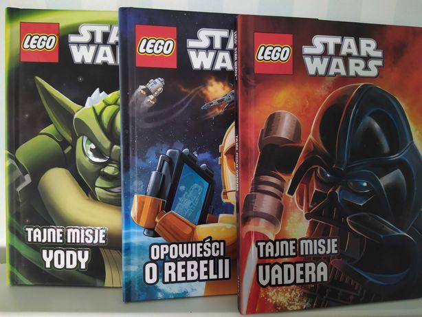 książki LEGO Star Wars Tajne misje Vadera, Yody, Opowieści o rebelii