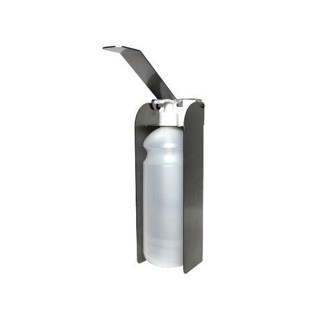 Nierdzewny dozownik łokciowy płynu mydła żelu dezynfekcja rąk 1L 1000m