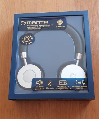 Bezprzewodowe słuchawki manta DIAMOND, nowe HDP9009