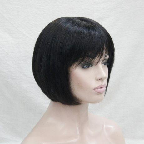 шикарный парик каре Лолита из натуральных волос