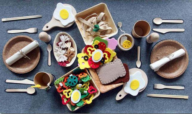 Mata piknikowa-pomoc edukacyjna Montessori