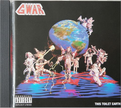 Gwar ‎– This Toilet Earth, Metal Blade Records 1994 CD