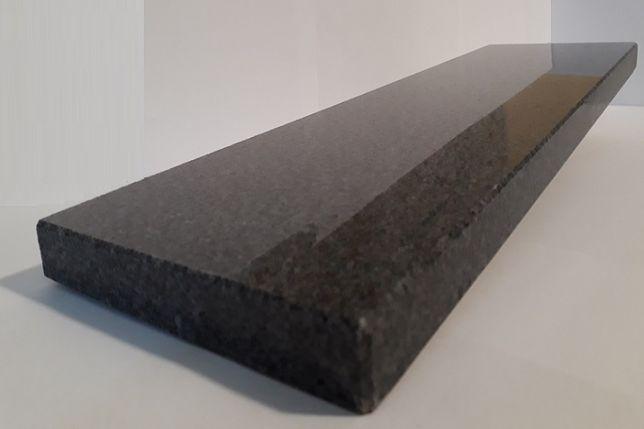 PARAPETY, SCHODY, STOPNIE z granitu wym. 180x30x3 cm PADANG DARK poler
