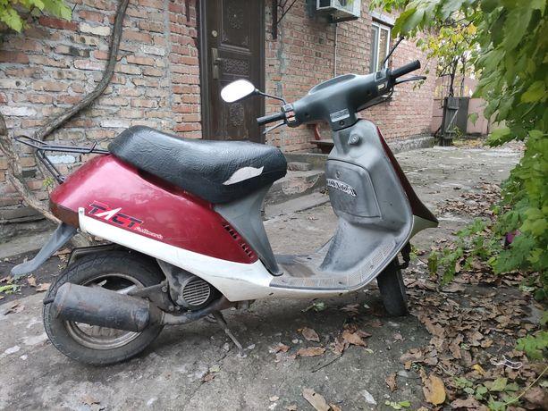 Honda tact 16 с двигателем от dio 27