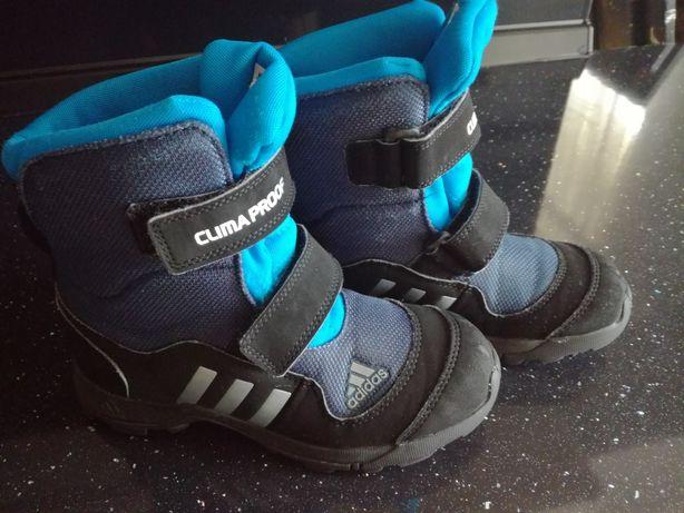 Buty zimowe kozaki śniegowe Adidas 32
