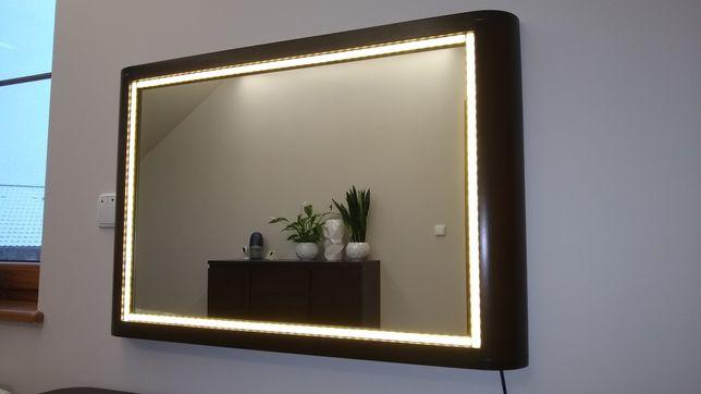 Lustro, toaletka LED, make-up