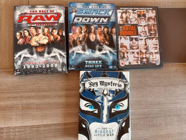 Dvds wrestling novos