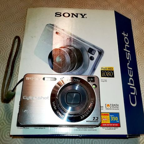 Máquina fotográfica SONY Cybershot