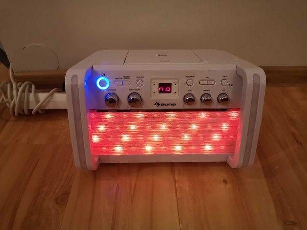 Zamienię lub sprzedam Auna Disco Fever 2.0 zestaw do karaoke, NOWY