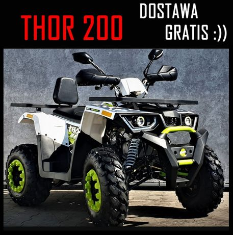 Dostawa Gratis Quad ATV Benyco Thor Pług, Odśnieżarka, Promocja