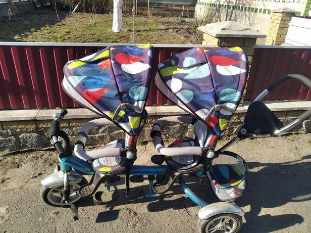 Срочно !!! Велосипед для двойни