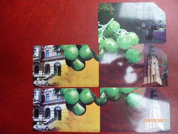Karty telefoniczne Winobranie puzzle