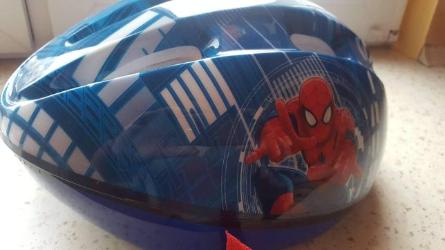 Kask rowerowy Spider-Man