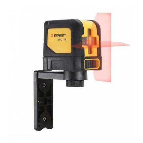 Лазерный уровень Sndway SW-311R • Кронштейн +батарейки +сумка нивелир