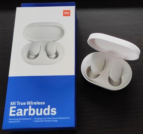 Słuchawki bezprzewodowe Xiaomi Mi True Wireless Earbuds białe