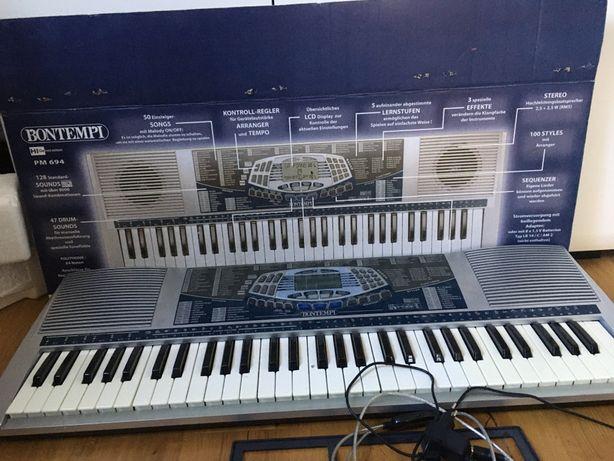 Hi-End Keyboard Bontempi  PM-694 Jak nowy