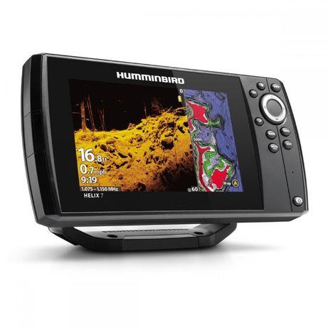 Эхолот Картплотер Humminbird Helix 7 CHIRP MEGA DI GPS G3 Гарантия 1г.